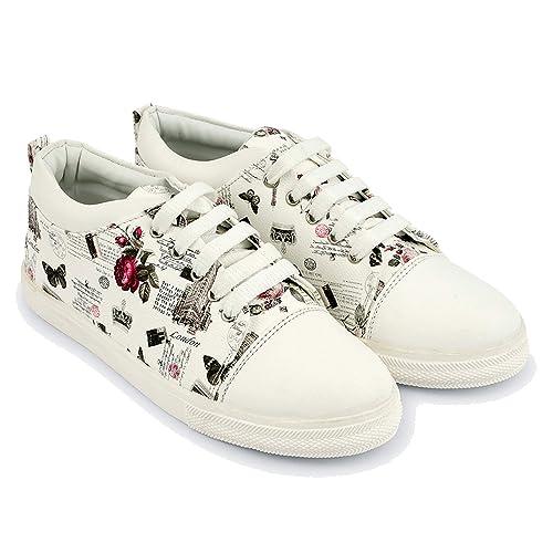 Buy RazMaz Printed Floral Sneakers for