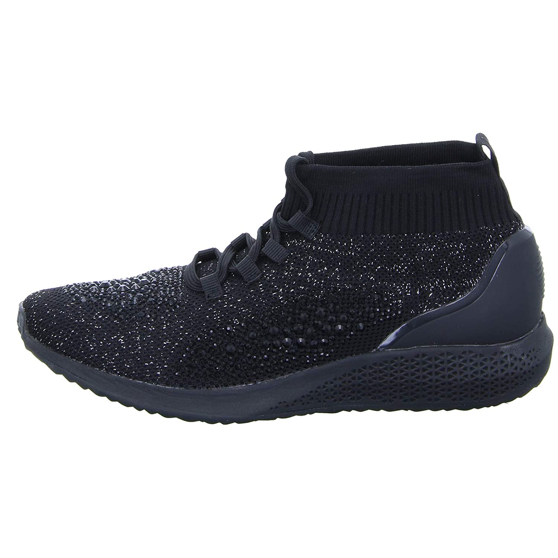 Tamaris Damen Sneaker 11 25204 Schnürer Fashletics Glitzer