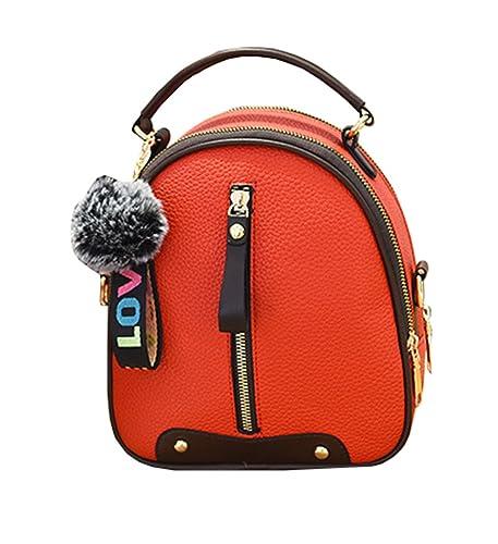 625d9797d5675 JOTHIN PU leder Rucksack Damen Kawaii Lässig Handtaschen Elegant Daypacks  Mädchen Umhängetasche Schule Klein Schultertasche
