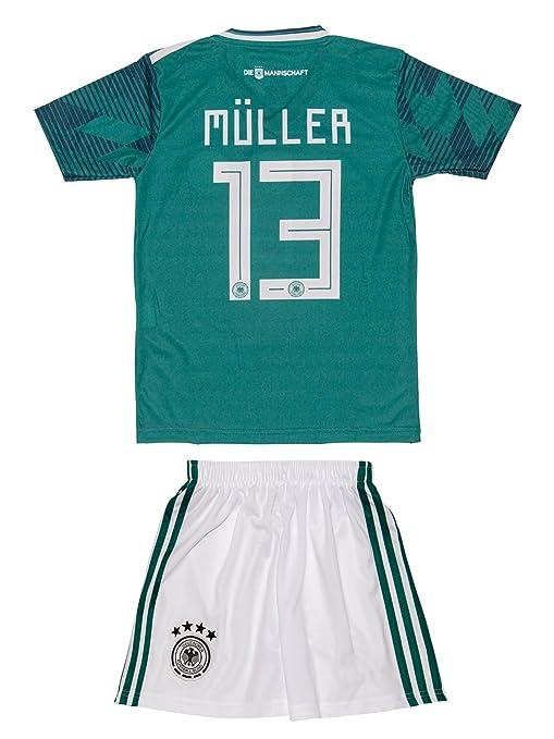 promo code 9da57 7c230 Amazon.com: Soccer Youth Jersey Set ○ Germany ○ Home ...