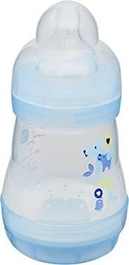 Mamadeira 160 ml Easy Start, MAM, Azul