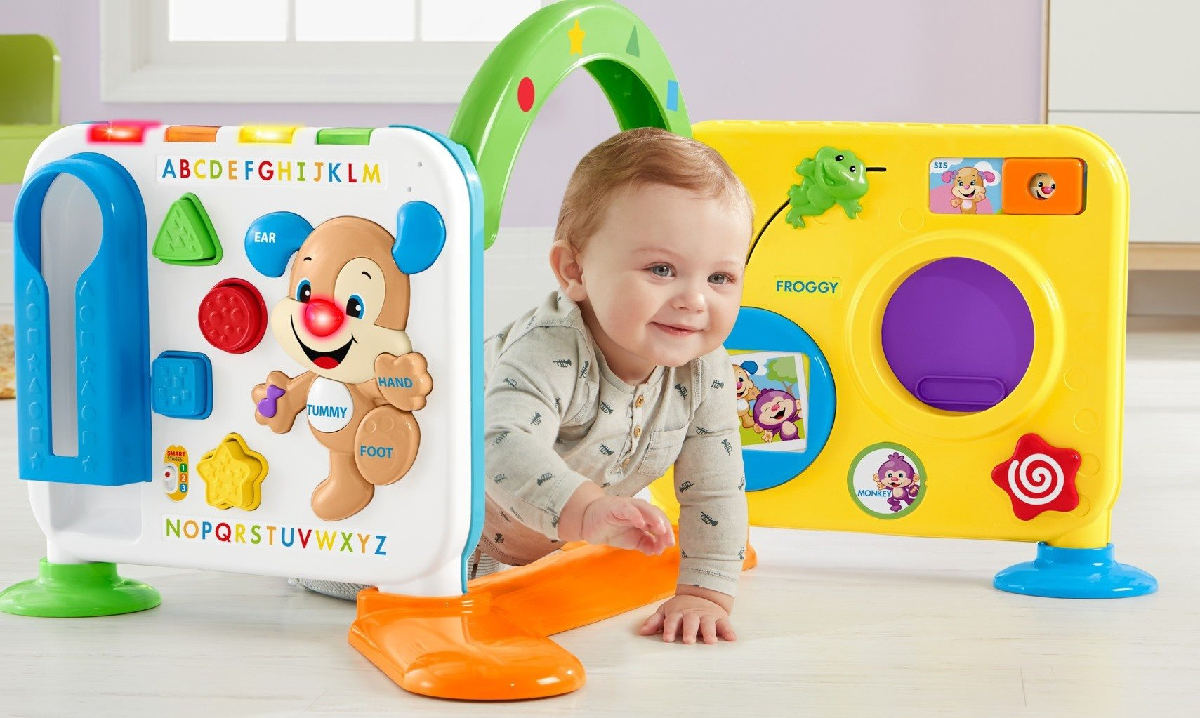 Fisher-Price Laugh & Learn Crawl-Around Learning Center by Fisher-Price (Image #7)