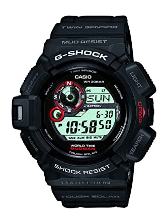 26d2aefd999 Amazon.com: Casio G Shock Mudman Digital Dial Men's Watch - G9300-1 ...