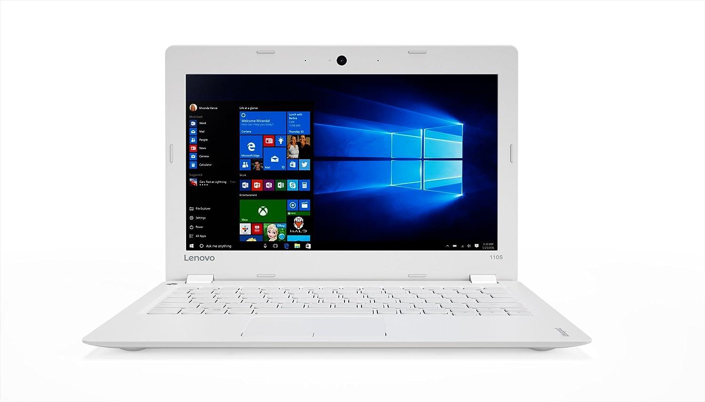 Lenovo 80WG0031IX Portatile Ideapad 110S-11IBR con Display da 11.6 HD TN AG , Processore N3160, RAM 2GB, EMMC da 32GB, Scheda Grafica Integrated, Sistema Operativo W10