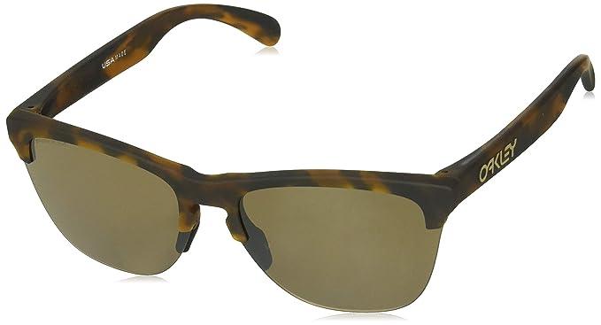 grossiste ff468 c88b2 Ray-Ban Men's Frogskins Lite Sunglasses, Brown (Marrón), 63 ...