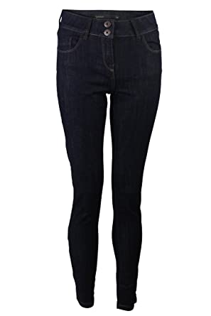 01a4d41e2a548 Ex Next Ladies Womens Dark Indigo Skinny Slim Leg Jeans Sizes 6-26 (26R)   Amazon.co.uk  Clothing
