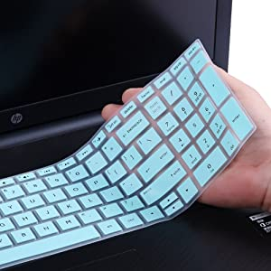 Keyboard Cover Skin Compatitle with HP Pavilion 15.6