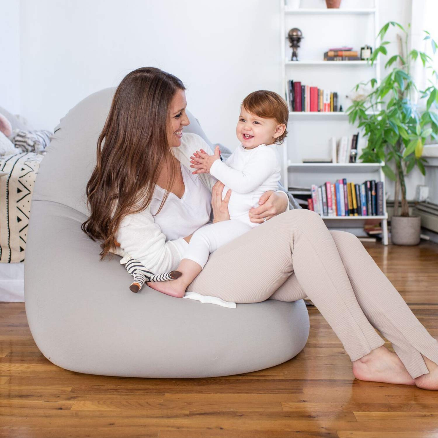 Pleasing Moon Pod Ultra Soft Bean Bags Chairs For Kids Teens Adults Anti Anxiety Float Chair Pabps2019 Chair Design Images Pabps2019Com