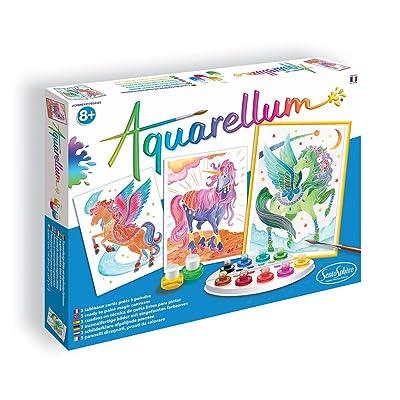 Sentosphere Unicorn Pegasus Aquarellum, 6394.0: Toys & Games