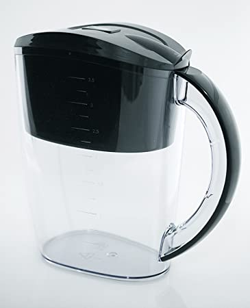Wellblue Alkaline Black Water Filter Pitcher