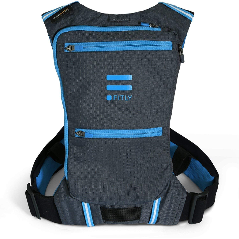 Fitly Running Pack – エメラルドブルー B079LZG2V4  M / L / XL