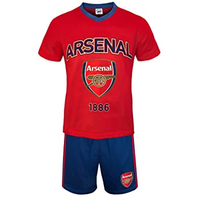 008c4cbd0c Arsenal FC Official Football Gift Mens Loungewear Short Pyjamas Red Small