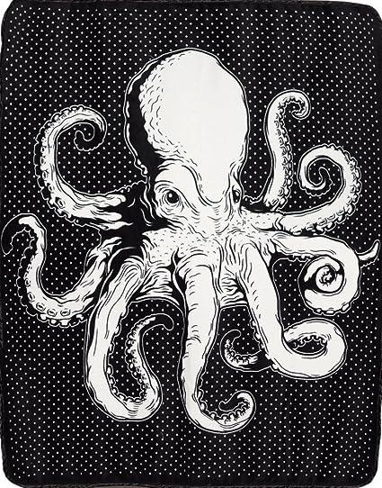 138260be73f Amazon.com  Sourpuss Octopus Blanket  Home   Kitchen