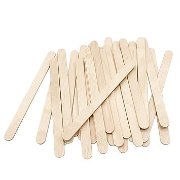 Amazon Com 200 Pcs Craft Sticks Ice Cream Sticks Natural Wood