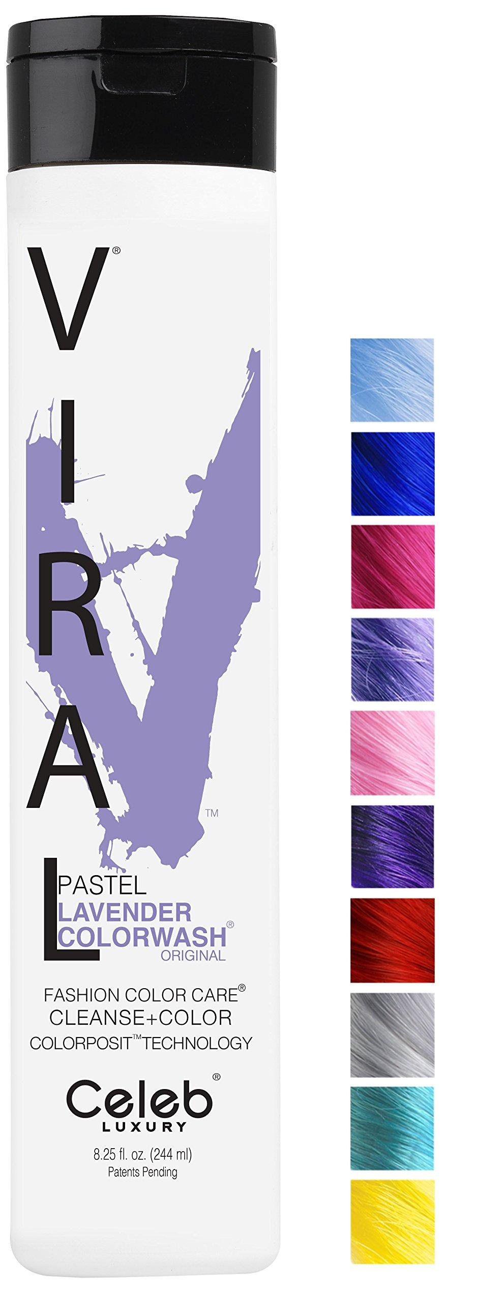Viral Pastel Lavender Colorwash, 8.25oz by Celeb Luxury