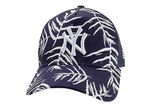 ef8de3181ef New Era Men Caps Trucker Cap Sandwash Print NY Yankees  Amazon.co.uk   Sports   Outdoors