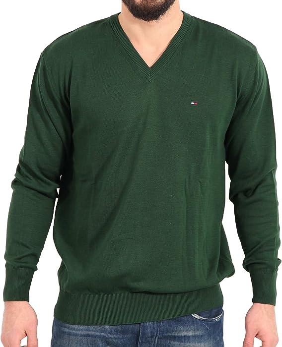 tommy hilfiger herren pullover grün