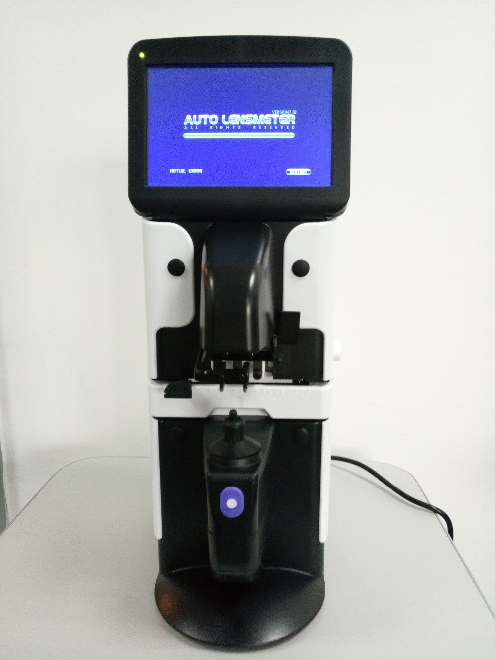 Auto Lensmeter Digital Automatic Registered in FDA 7'' LCD Touch Screen Accurate Measurement PD, UV, and Printer function