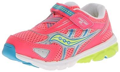 b708962ba7 Saucony Girls Baby Ride 6 Running Shoe (Toddler/Little Kid)