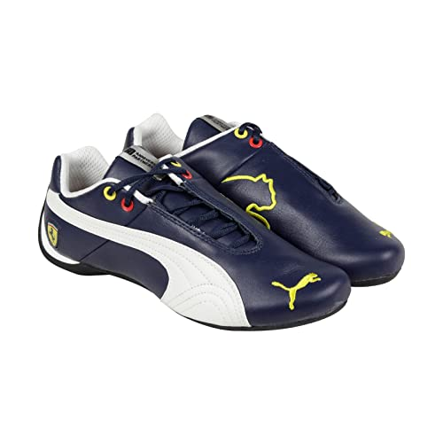 ca05f29619 PUMA Ferrari Future Cat SF 10 Blue White Motorsport Shoes (8): Amazon.ca:  Shoes & Handbags