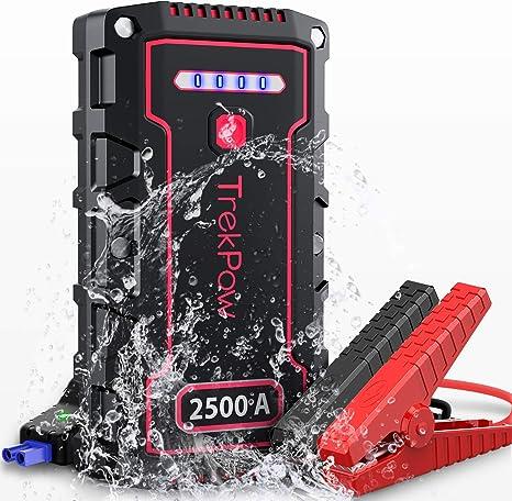 TrekPow TJ2500 Jump Starter 2500A arrancador batería
