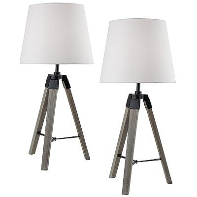 2 De Chevet 57 Tripode Lampes Table Cm Ou Lot Brubaker 2E9IDHW
