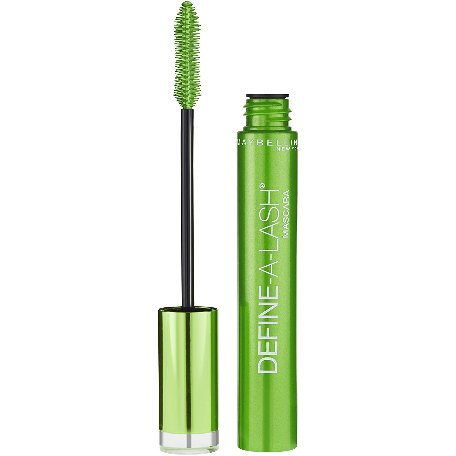Maybelline New York Define-A-Lash Lengthening Washable Mascara, Very Black. For Washable Definition and Shape in Longer-looking Lashes, 0.22 Fluid Ounce : Beauty