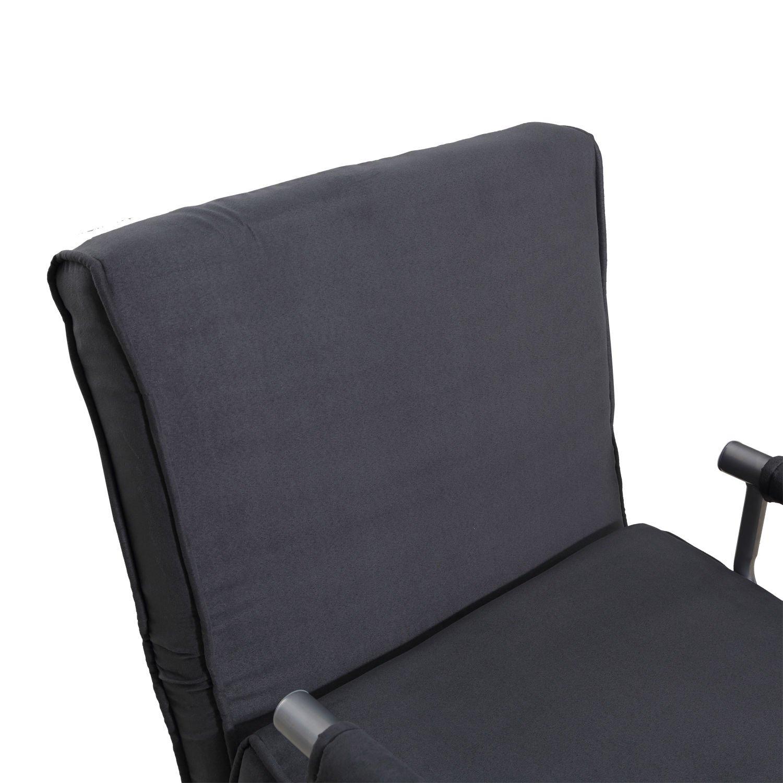 amazon com folding sleeper flip chair convertible sofa bed lounge