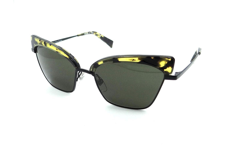 Alain Mikli Sunglasses A04005 006//71 54-17-135 Alouette VDTBK Havana//Green