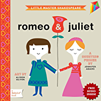 Romeo & Juliet: A BabyLit Counting Primer: -- Free Audio Book Inside ---