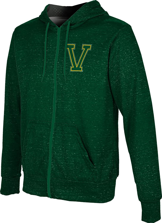 ProSphere University of Vermont Mens Full Zip Hoodie Heathered