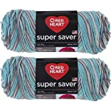 Bulk Buy: Red Heart Super Saver (2-Pack) (Icelandic, 5 oz Each Skein)