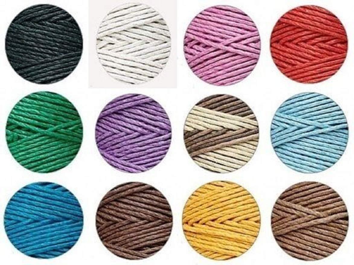 4 Spools x 205 ft ea ~ 1mm 20# Test Hemp Cord/Twine U-Pick (Limited Colors) ~ Serena by Serendipity