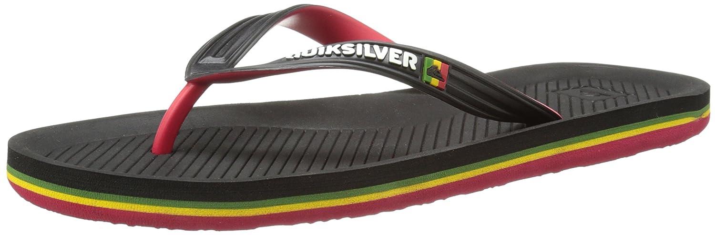 Quiksilver Men's Haleiwa Sandal-m Black/Red/Green 6 D US AQYL100600