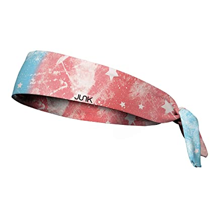 e8eea3b15f45 Amazon.com  JUNK Brands Rising Star Flag Flex Tie Headband