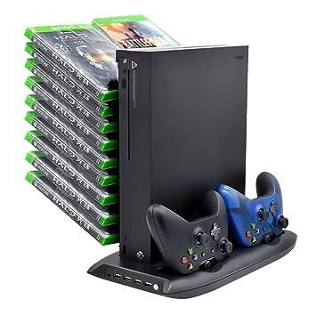 Ventilador De Refrigeracion Vertical Para Xbox One X Con Discos De