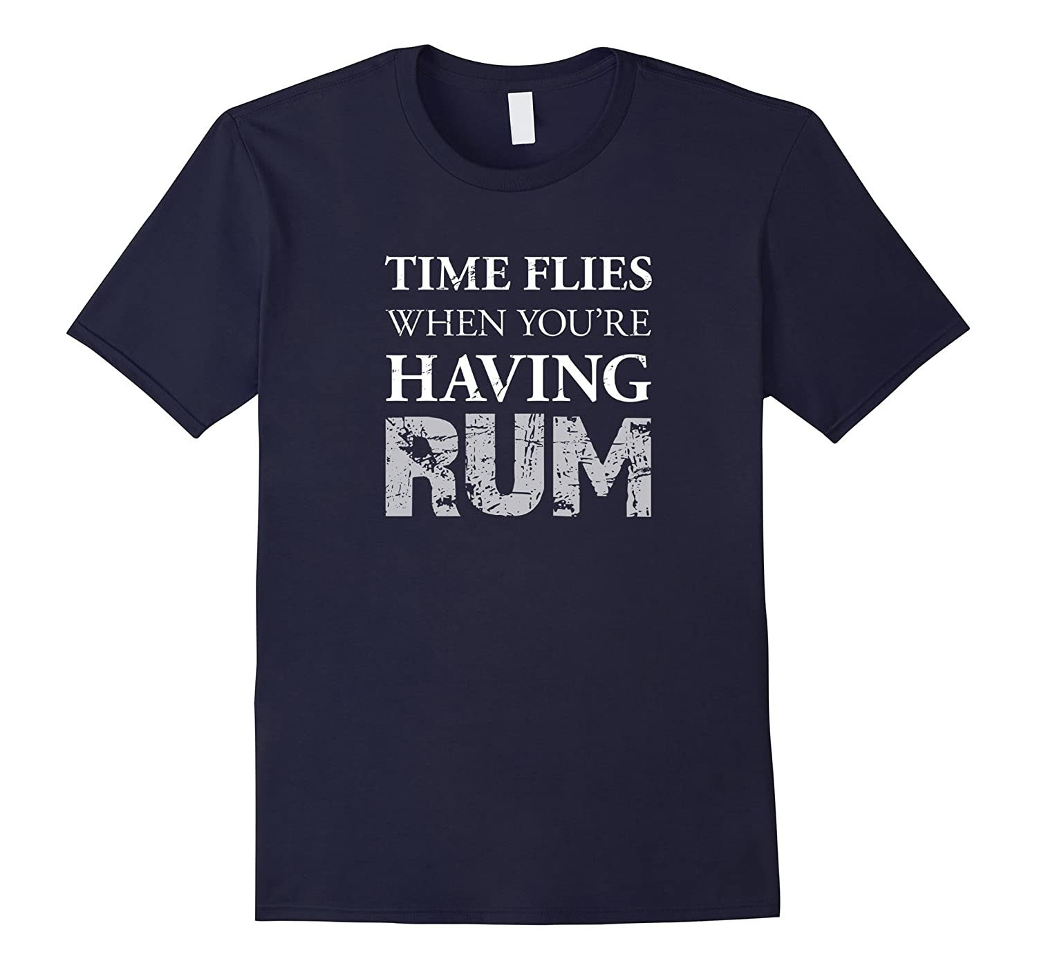 Time Flies When Youre Having Rum T-Shirt-Vaci