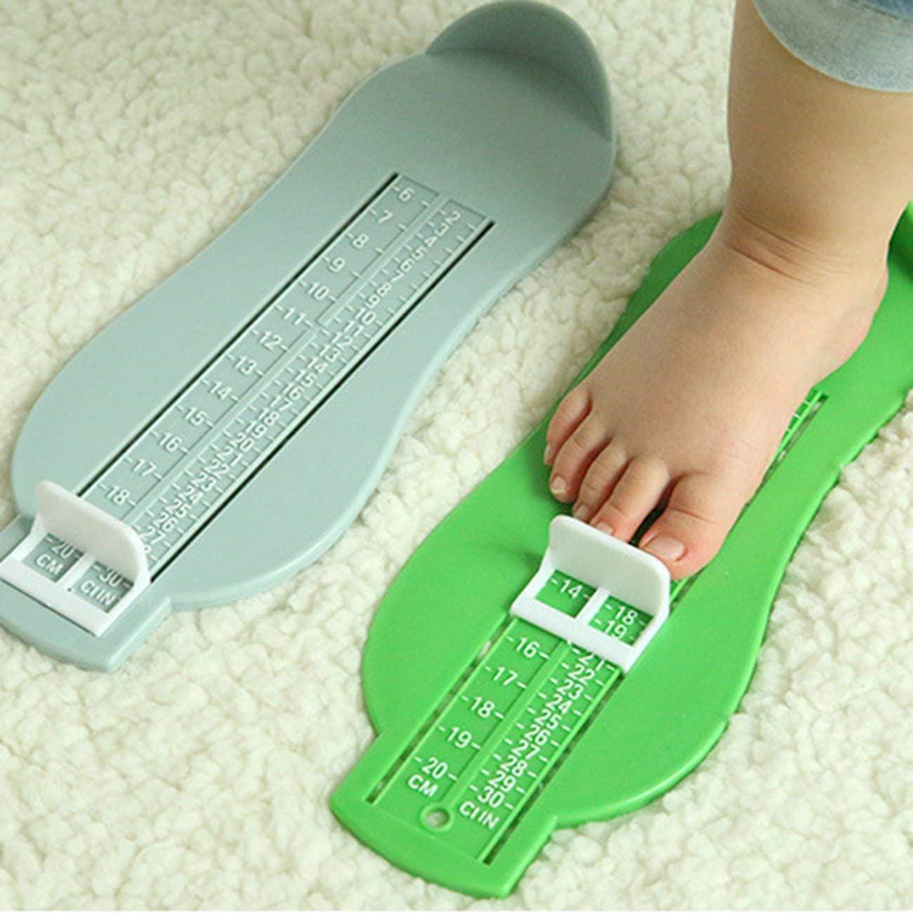 Tree-on-Life Jauge de Pied Dispositif de Mesure de Pied pour Enfants pour Chaussures A794 R/ègle de Mesure de Longueur de Pied de b/éb/é 0-8 Ans