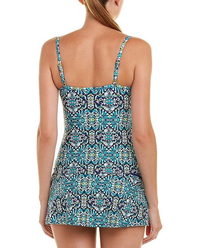 576210dab602e Amazon.com: La Blanca Women's Tuvalu Underwire Wrap Over The Shoulder  Tankini Top: Clothing