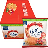 Fitness Toasties Tomato & Herbs 36g Bag (Pack Of 12)