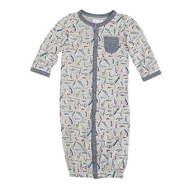 33ce079ab66f Amazon.com  Mud Pie Baby Boys Fishing Convertible Sleep Gown  Clothing