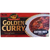 S&B Golden Curry Sauce Mix Extra Hot, 8.4-Ounce (Pack of 5)