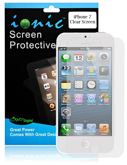 on sale 6c44e 1d4b3 Amazon.com: iPhone 7 screen protector, Ionic Screen Protector Film ...