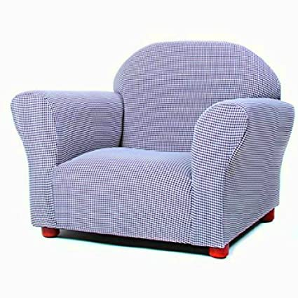 Amazon Com Children S Upholstered Armchair With Wooden Frame And