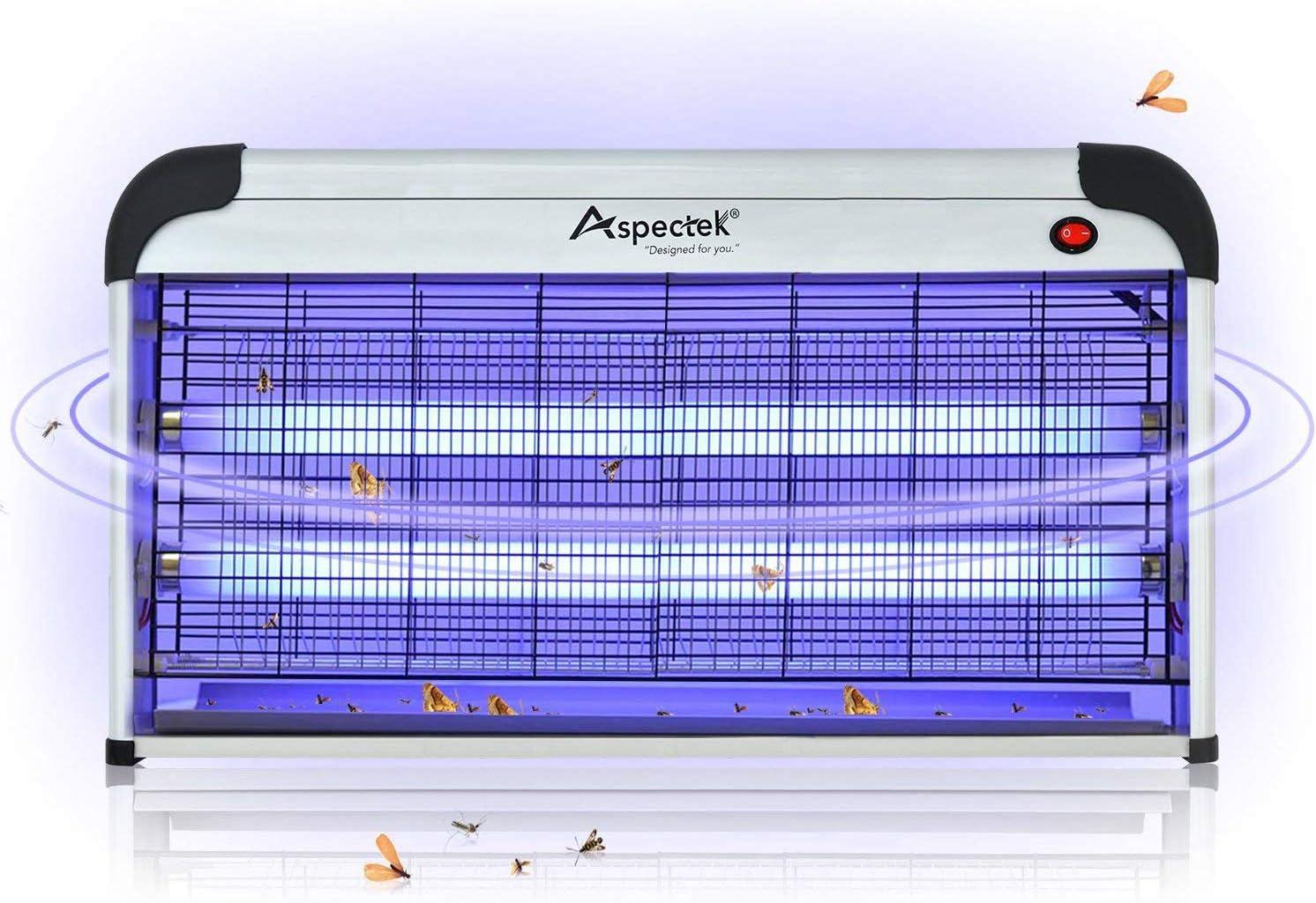 ASPECTEK - Lámpara antimosquitos (Lámpara de Mosquitos (20 Watt)) (Lámpara de Mosquitos (40 Watt))