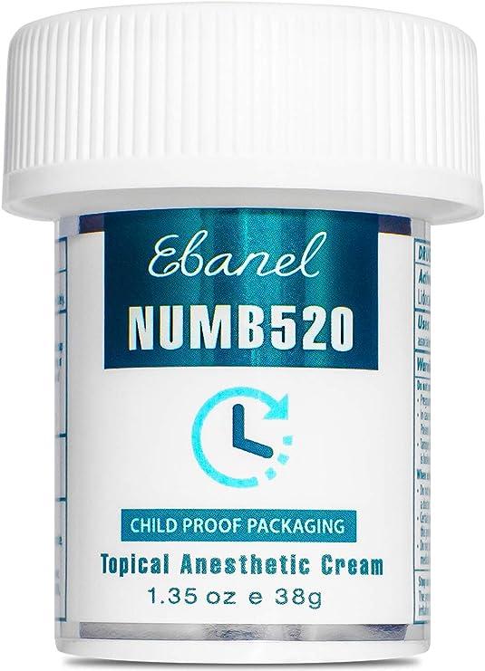 Ebanel 5% Lidocaine Topical Numbing Cream