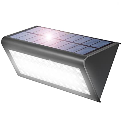 Aglaia Focos Led Exterior, 38 LED Luz Solares con Sensor De Movimiento, 4W ,