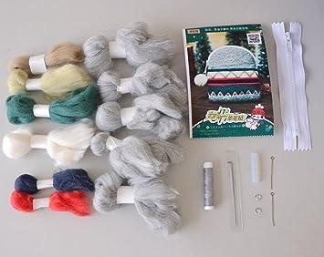 chengyida DIY fieltro Monedero cartera Kit de costura ...
