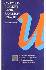 Oxford Pocket Basic English Usage Paperback