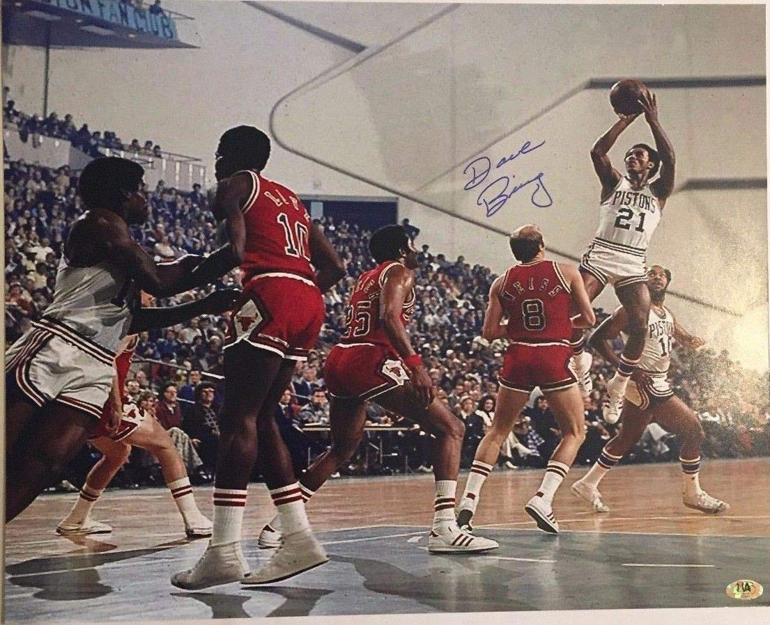 Dave Bing Autographed Signed Detroit Pistons 16x20 Photo Mab Hologram -  Certified Authentic at Amazon s Sports Collectibles Store c0c44babe